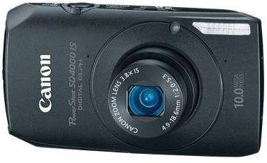Canon SD4000IS Camera