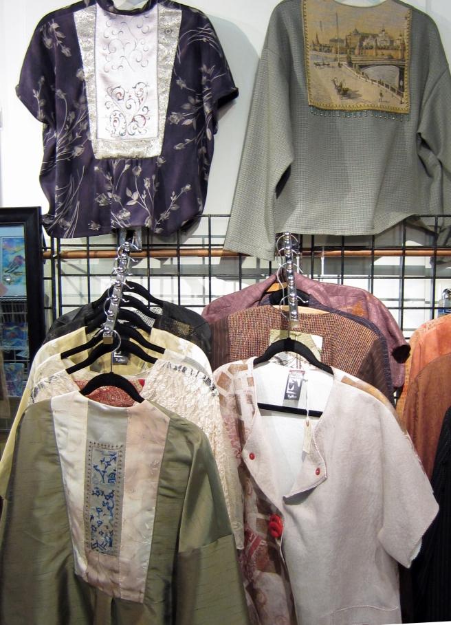 handmade clothing booth