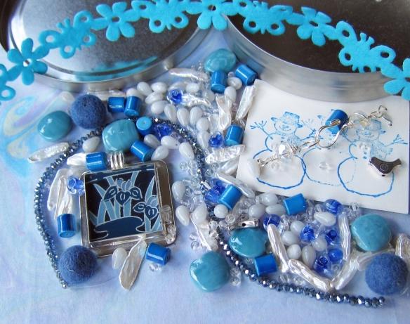 Beads sent from Elisabeth Auld