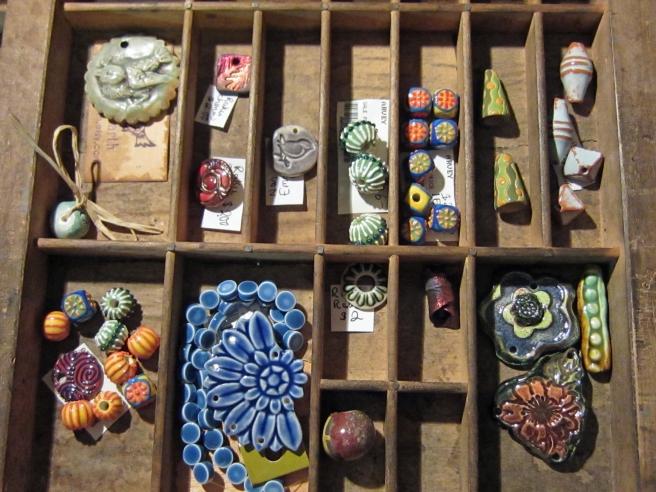 Hamilton printers cabinet with ceramic beads