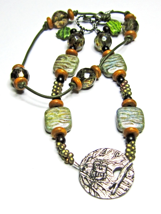 Fusion Bead Challenge necklace