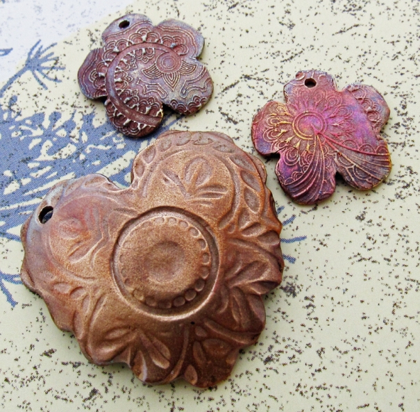 Brass and copper jewery components from Dream Some