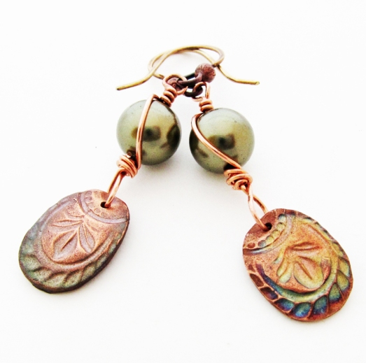 Wild Sage Earrings by Linda Landig