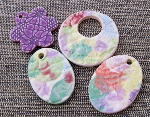 BTW May 4 watercolor pendants
