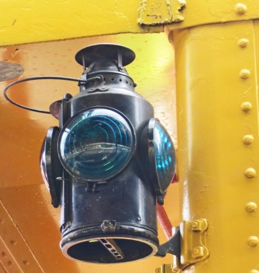 Lantern on a caboose