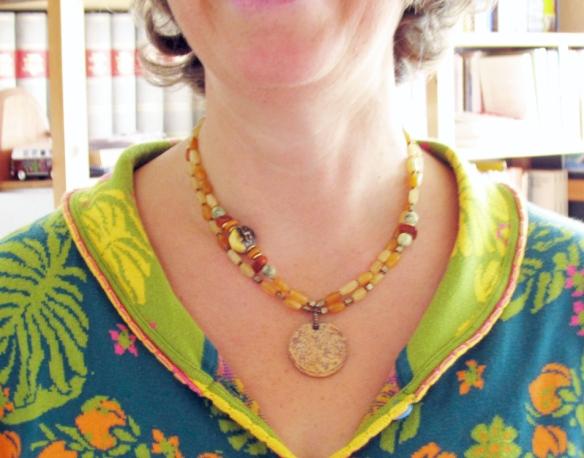 Handmade necklace by Linda Landig