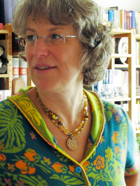 Handmade necklace with pendant by Chinook Jewelry
