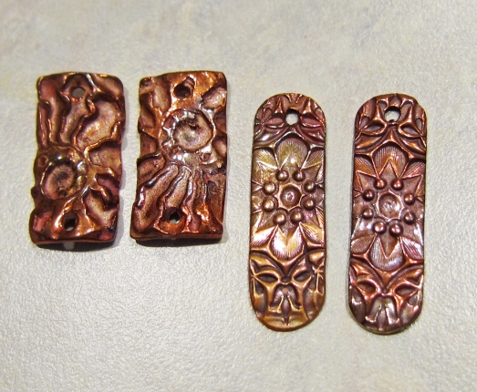 copper clay components