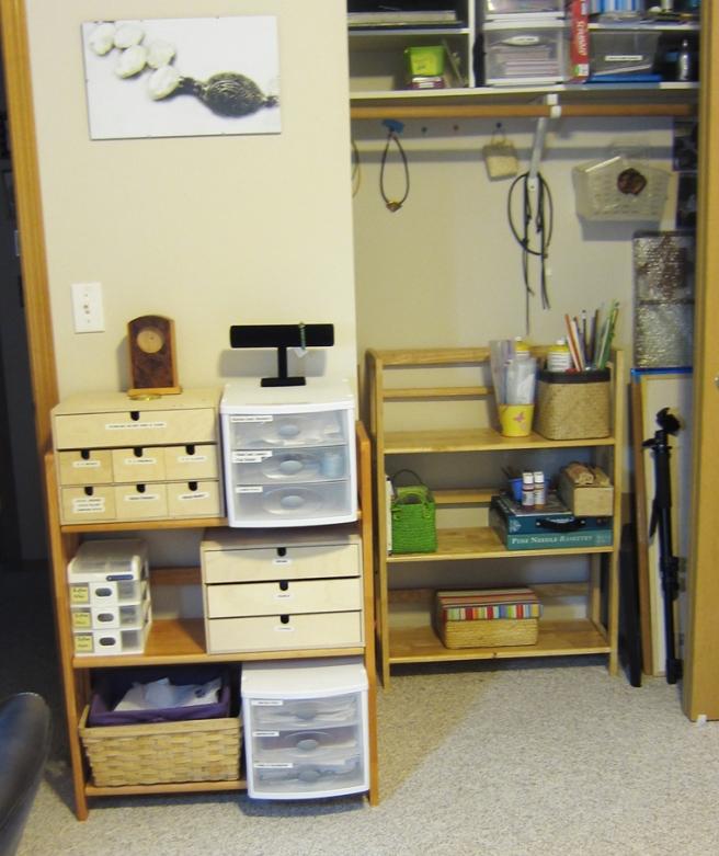 Bead room organization
