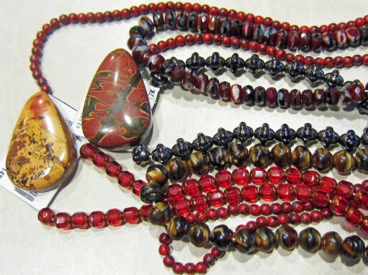 new beads and pendants