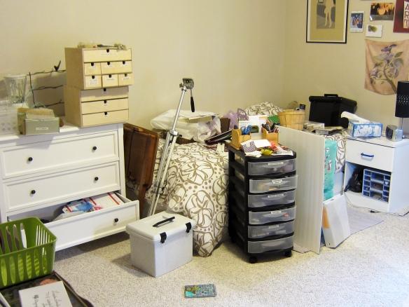 Making more room in my studio