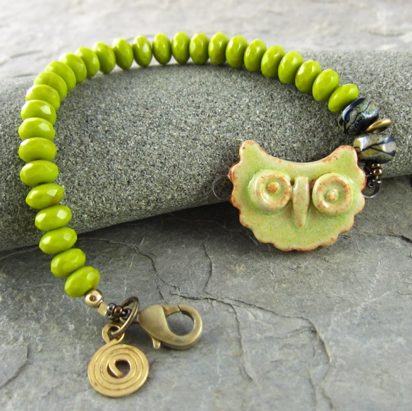 Little Owl Bracelet