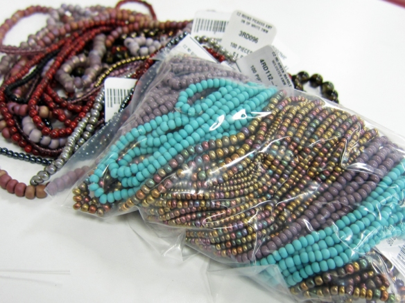 New beads for Kristi Bowman and Linda Landig bought