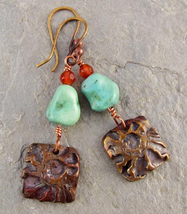 Copper Canyonl Earrings