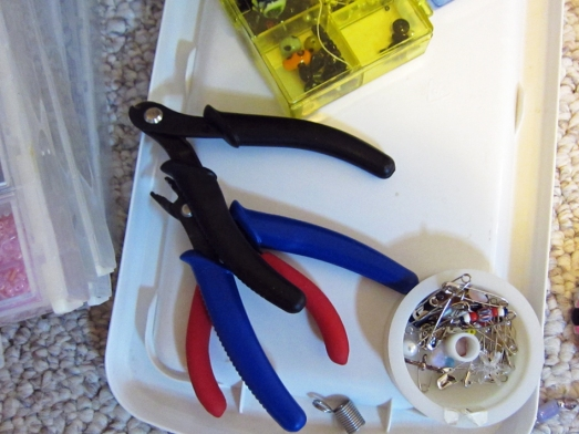 flush cutters and crimp tools