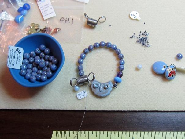 Blue Owl Bracelet