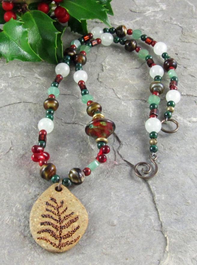 Color challenge necklace