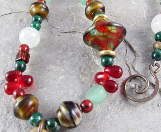 Color Challenge necklace by Linda Landig Jewelry