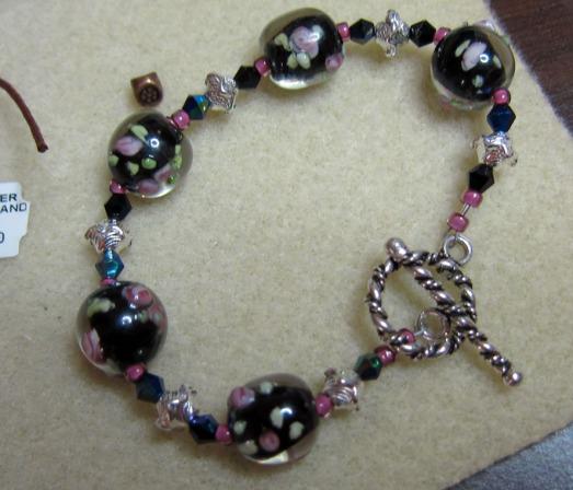 Handmade bracelet by Linda Landig