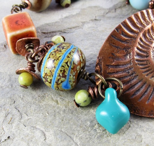 lampwork bead by Out West