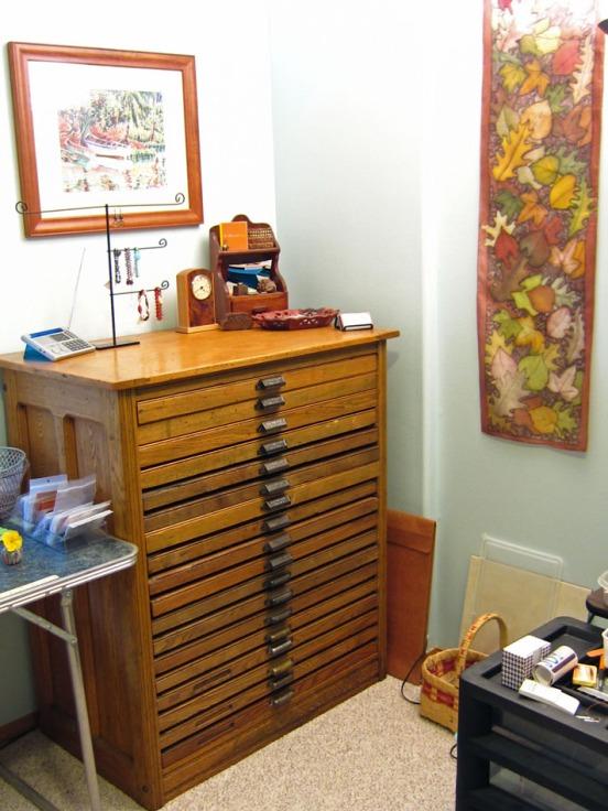 My Hamilton printers cabinet.