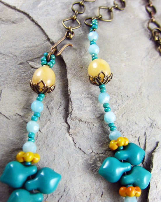 Turquoise Tide Necklace