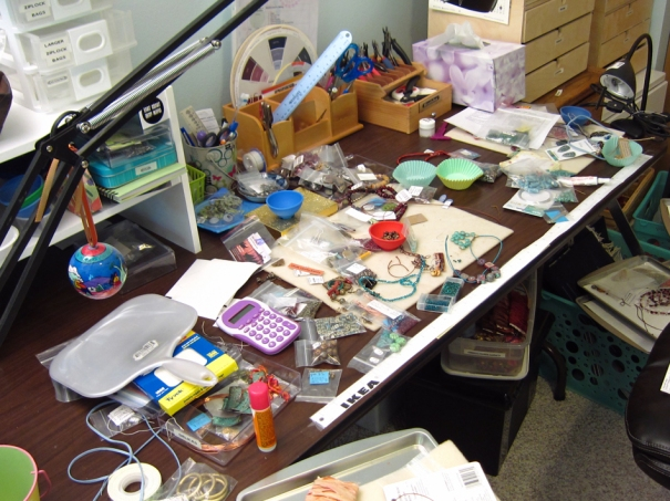 Jewelry workspace