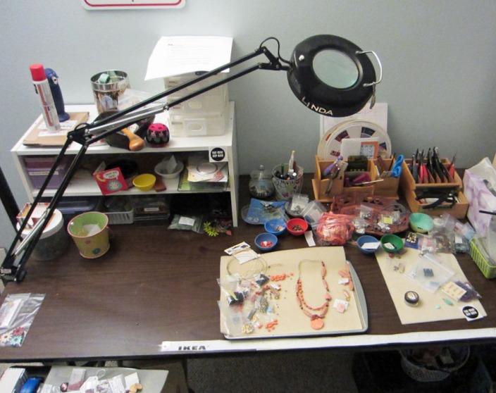 jewelry work bench