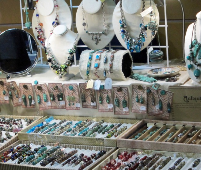 lampwork beads booth