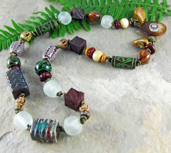 artisan necklace by Linda Landig Jewelry