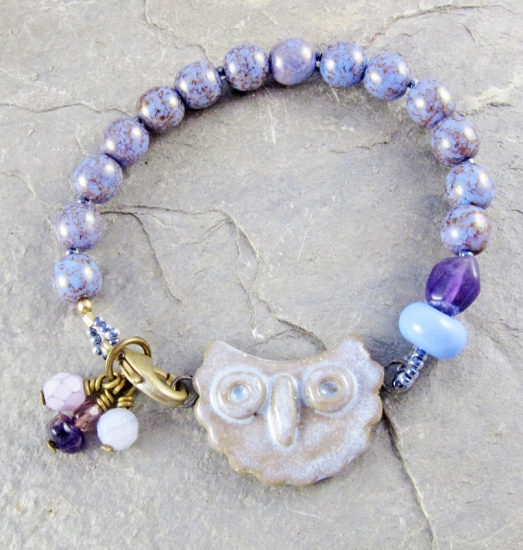 bracelet for Owl Challenge on Artisan Whimsy