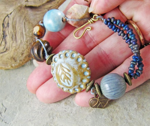 bracelet by Linda Landig Jewelry