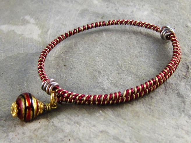 Aspire To Wire Bracelet