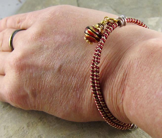 Twined Wire Bracelet