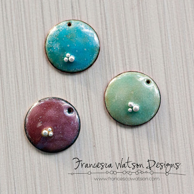 enameled jewelry pendants