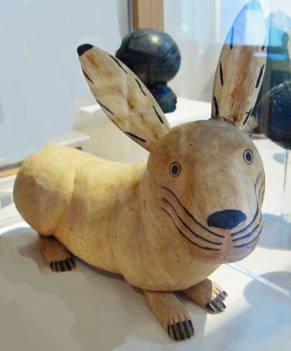 bunny from Oaxaca museum
