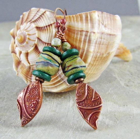 earrings by Linda Landig Jewelry