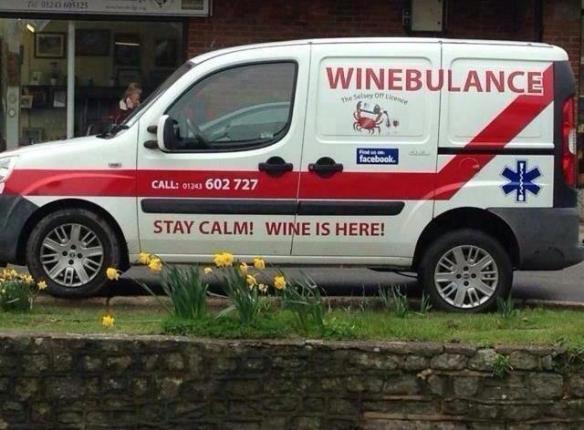 Winebulance!