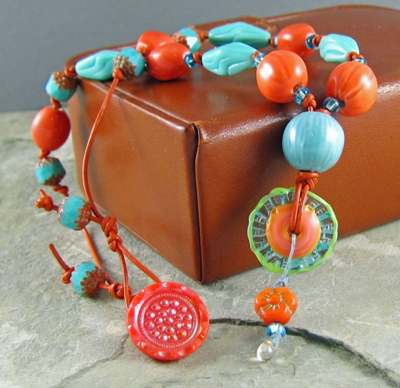 handmade necklace by Linda Landig Jewelry