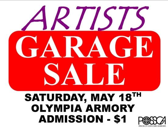 Garage Sale Olympia, WA