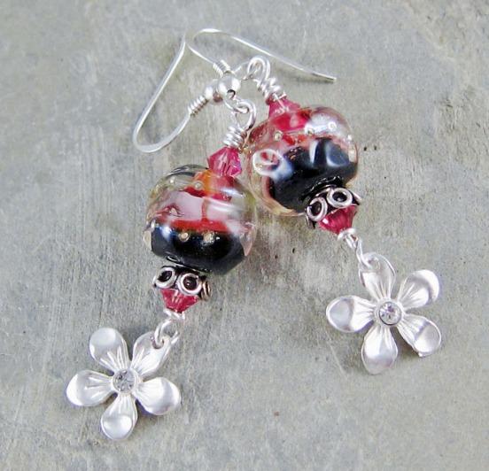 Handmade artisan earrings