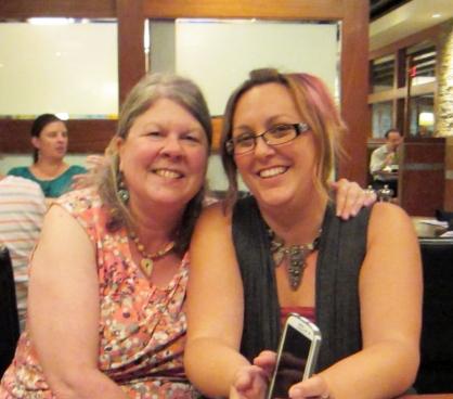 Staci and Linda