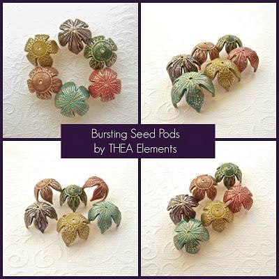artisan bead components by Lesley Watt