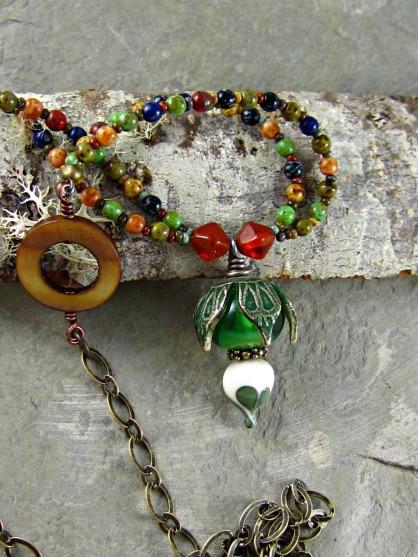 artisan necklace by linda landig jewelry