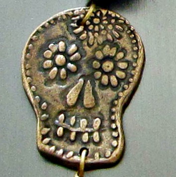 DOD Necklace Sugar Skull