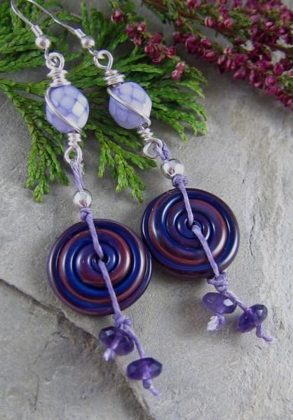 Handmade earrings by Linda Landig Jewelry