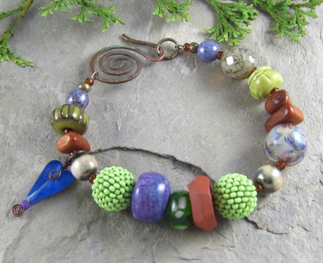 handmade bracelet by Linda Landig Jewelry