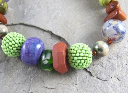 artisan bracelet by Linda Landig Jewelry