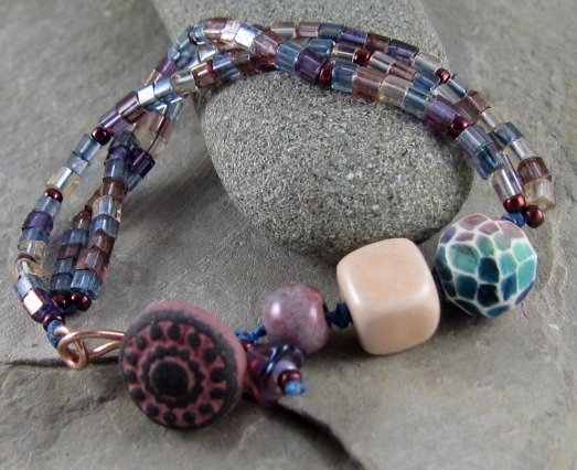 Handcrafted bracelet by Linda Landig Jewelry