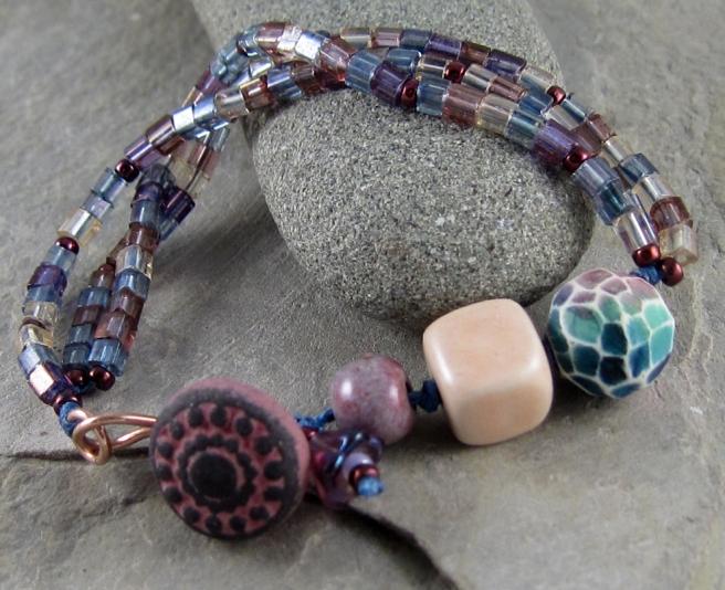 Handcrafted bracelet by Linda Landig Jewelry